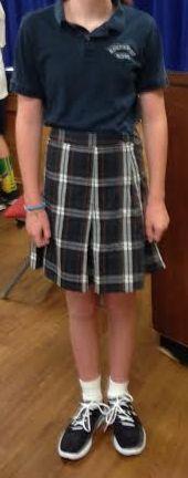 Girls uniform 6-8